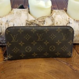 Authentic Louis Vuitton oversized wallet
